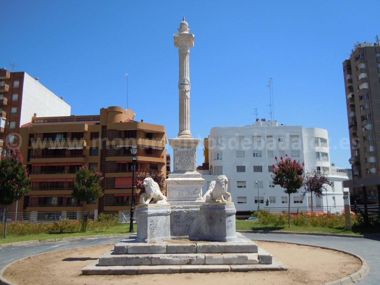 monumentos en badajoz capital